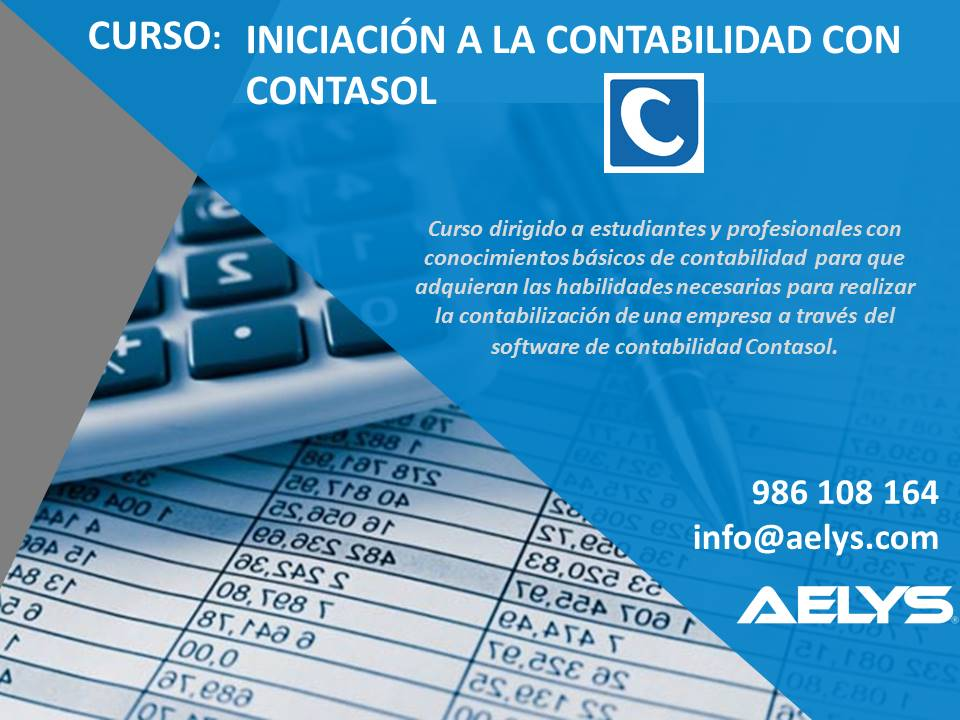 Folleto Curso de Contasol