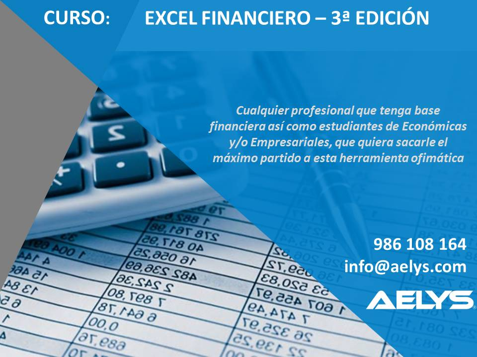 Folleto de Excel Financiero
